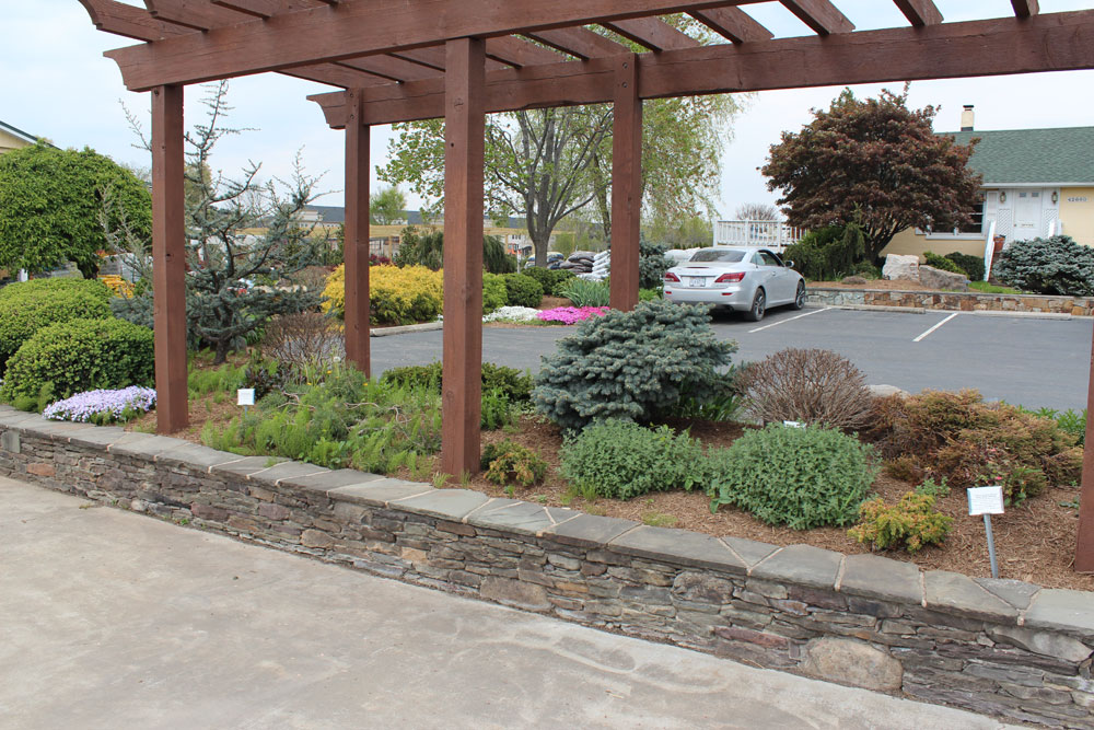chantilly garden center display gardens