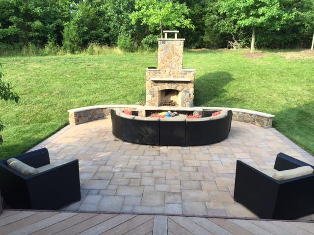 chantilly fireplace