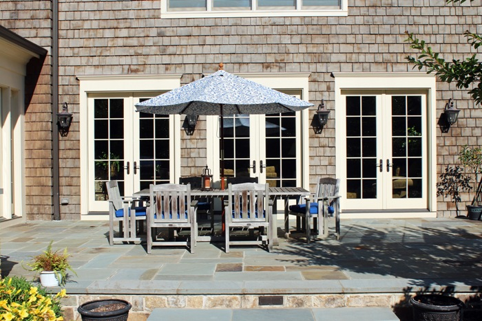 chantilly flagstone patio