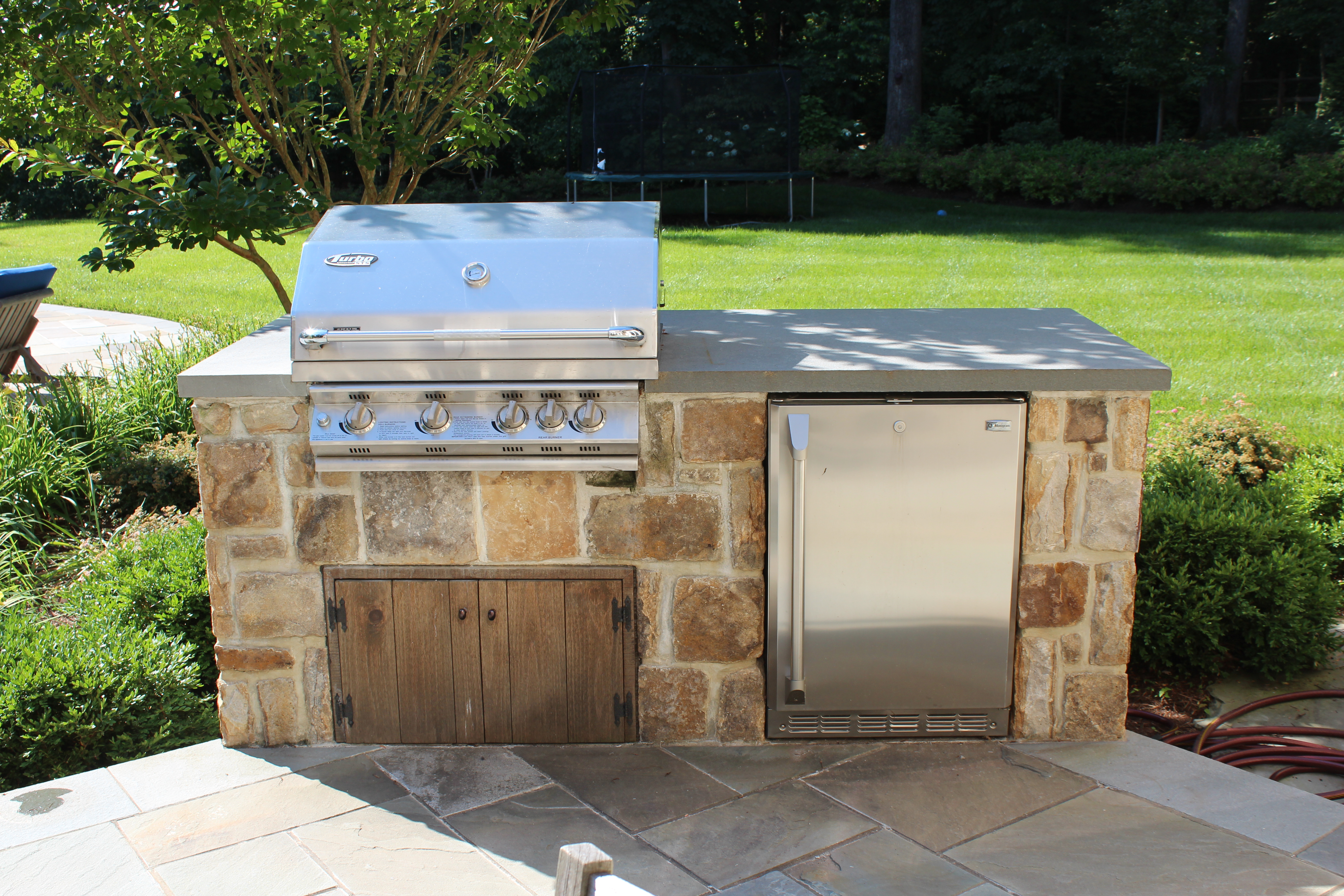 chantilly va outdoor kitchen