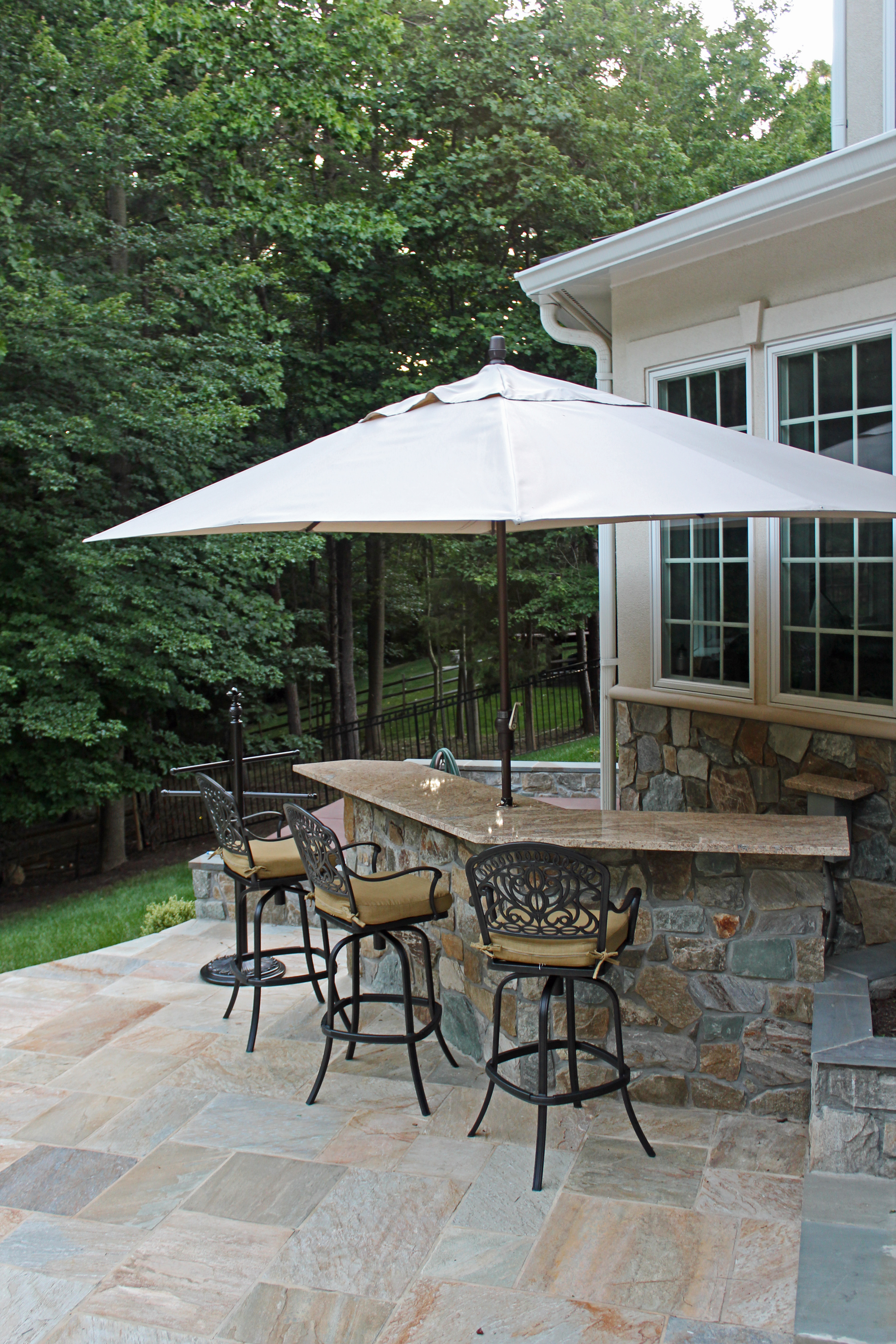 virginia outdoor kitchen