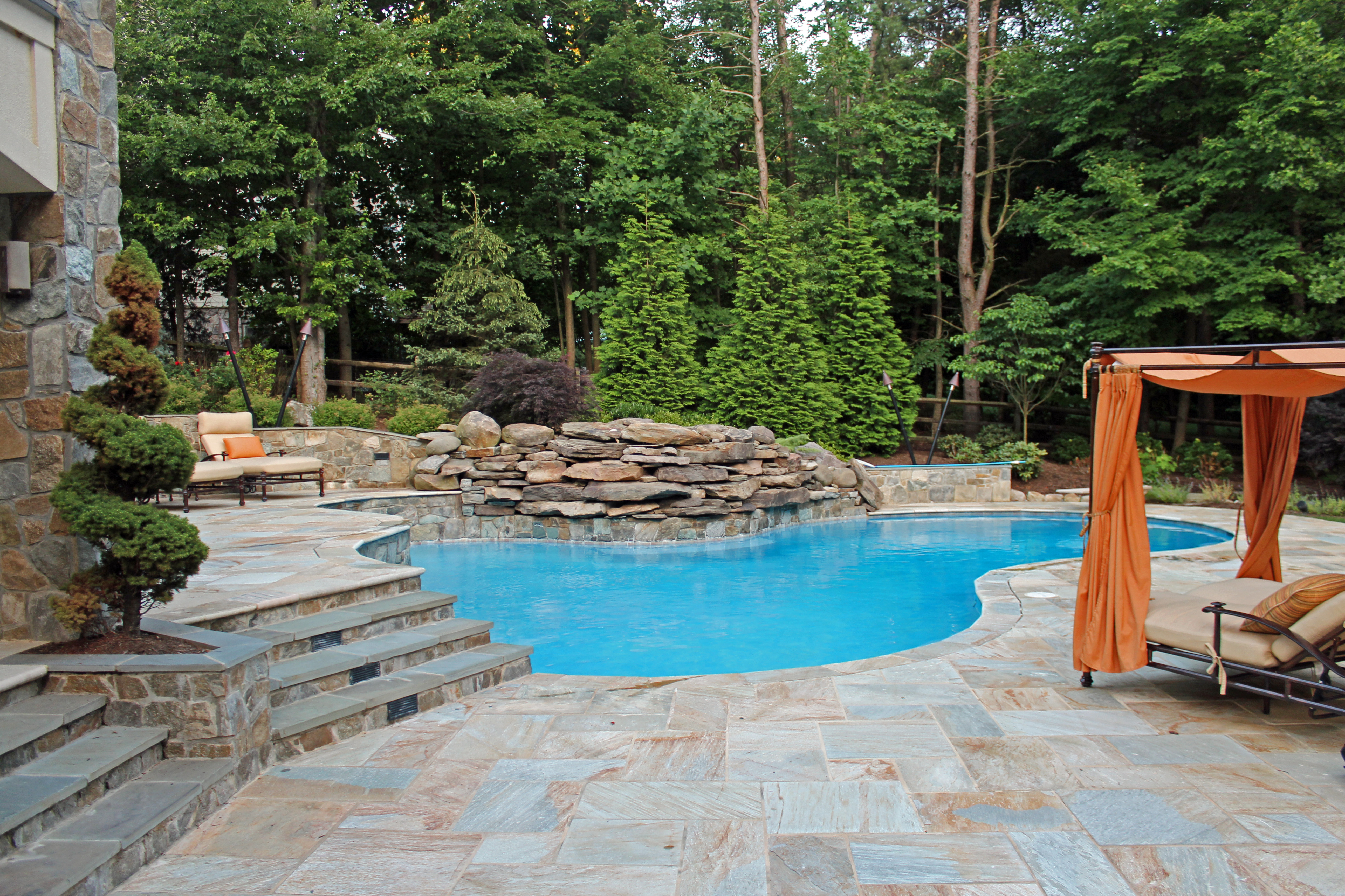 Swimming Pools & Water Features - Greenworks Landscaping ...
